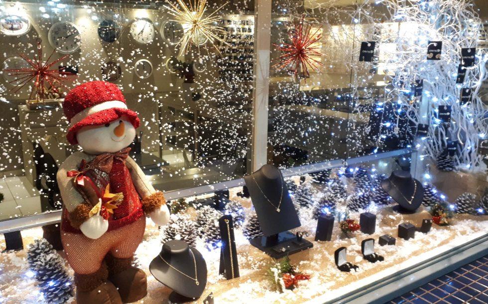 vitrine de natal