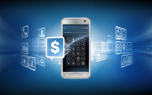 pagamentos digitais, compra on-line, negócio, transação virtual